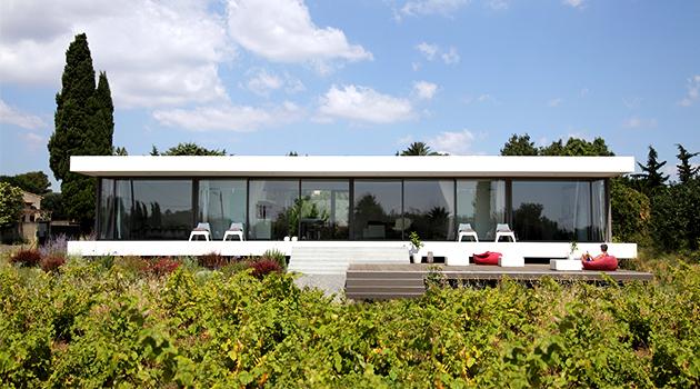 House V by Stephane Nikolas in Saint-Aunes, France