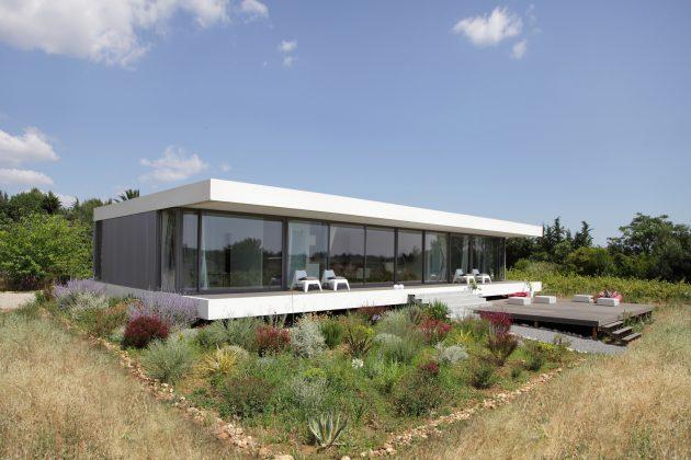 House V by Stephane Nikolas in Saint Aunes, France