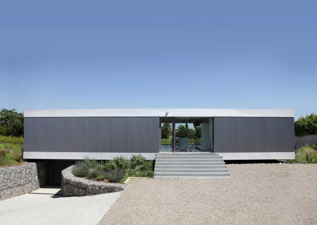 House V by Stephane Nikolas in Saint-Aunes, France