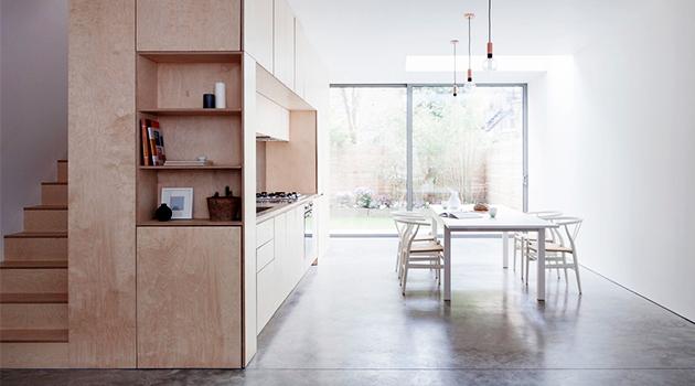 Islington Maisonette by Larissa Johnston Architects in London