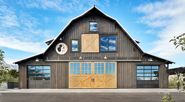 Manson Barn by SkB Architects in Washington, USA