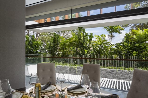 Namly View House by Wallflower Architecture + Design in Bukit Timah, Singapore