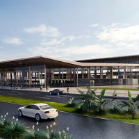 Philippines Clark International Airport Terminal by GMW MIMARLIK