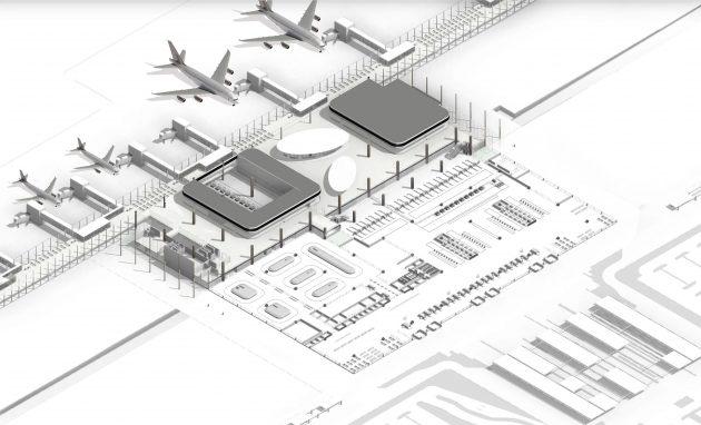 Philippines Clark International Airport Terminal byGMW MIMARLIK
