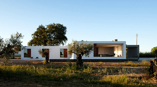 Ring House by Vasco Cabral + Sofia Saraiva in Santarem, Portugal