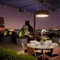Transform Your Rooftop Into A Formal Culinary Experience
