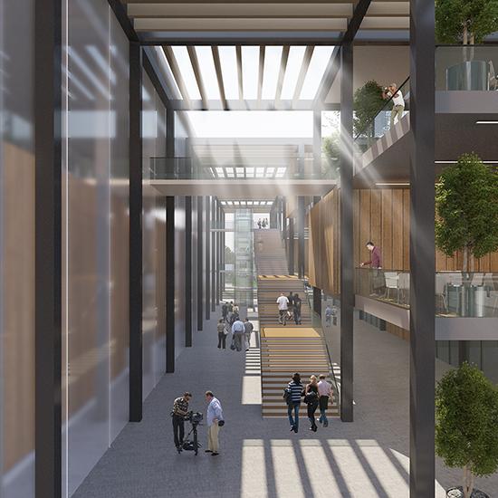 Award Winning Green Home Designs: Touching The Green: An Award Winning Urban Design Project