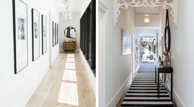 Decorating Narrow Hallway- Easier Than Ever