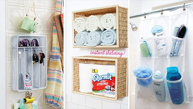 15 Amazing Dollar Store Crafts That Will Help You Organize Your Home On A Budget