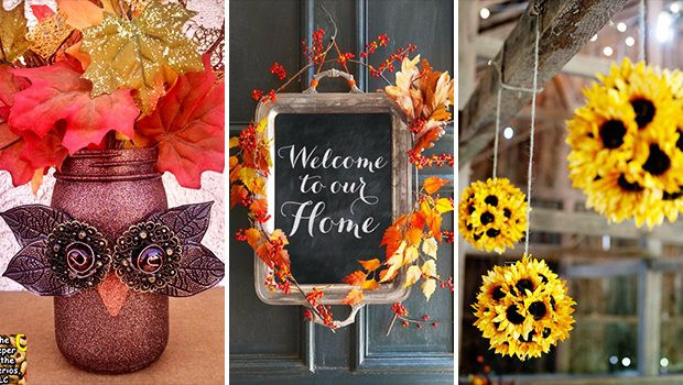 15 Crazy DIY Fall Decor Ideas Anyone Can Make In A Heartbeat