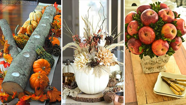 15 Fantastic DIY Fall Centerpiece Designs To Cheer Up Your Table Decor