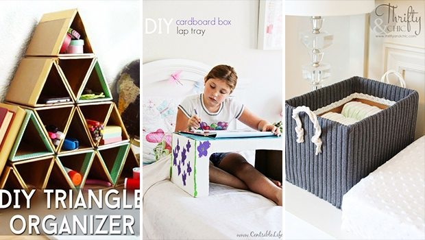 15 Insanely Cool Cardboard Crafts You Will Begin Making Right Now
