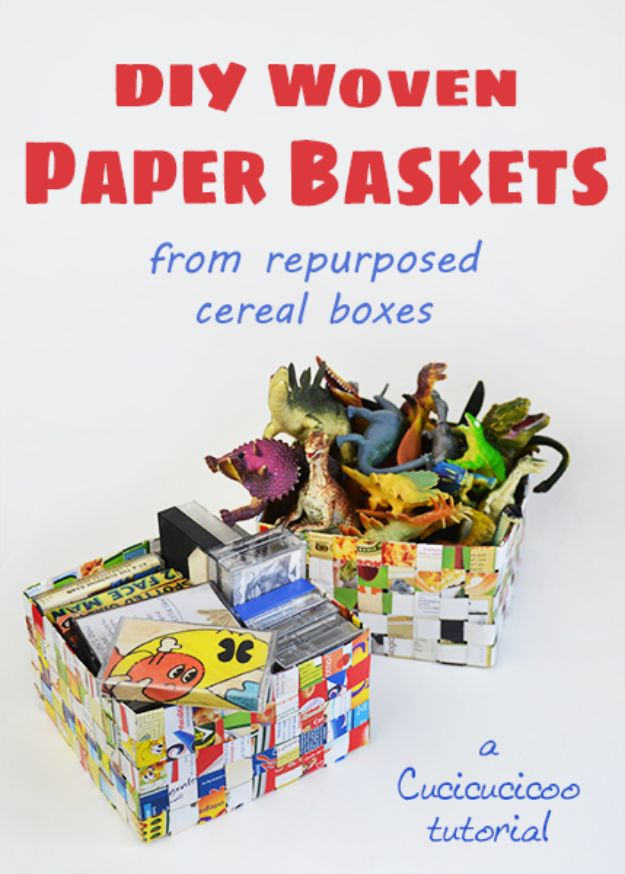 16 Brilliant DIY Ideas That Turn Cereal Boxes Into Awesome Crafts