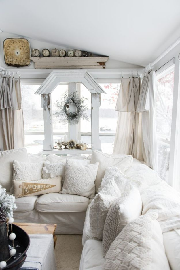 16 Captivating DIY White Decor Projects To Update Your Home With