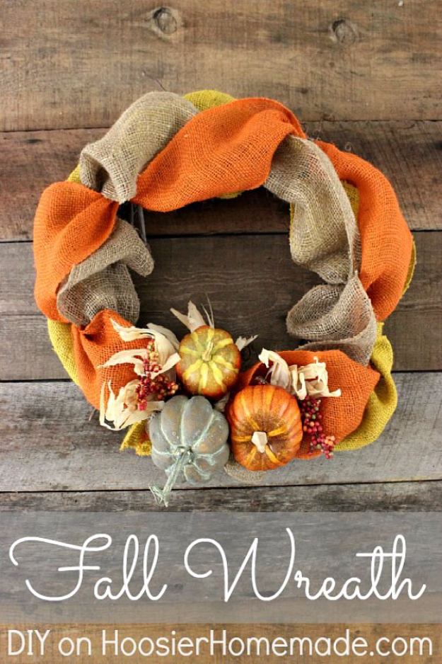 17 Amazing DIY Fall Wreath Ideas You Would Love To Craft