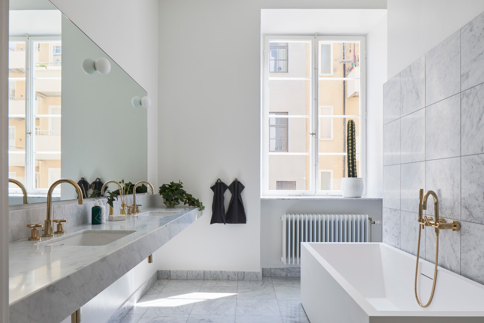 18 Absolutely Stunning Scandinavian Bathroom Designs You Must See