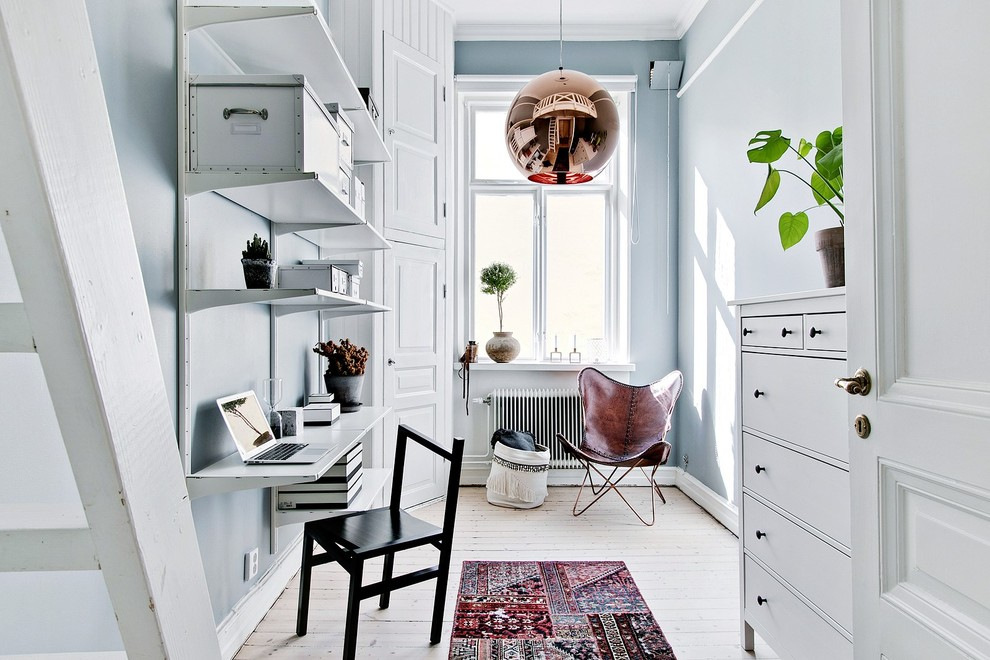 18 Brilliant Scandinavian Home Office Interiors You'd Love To Work In