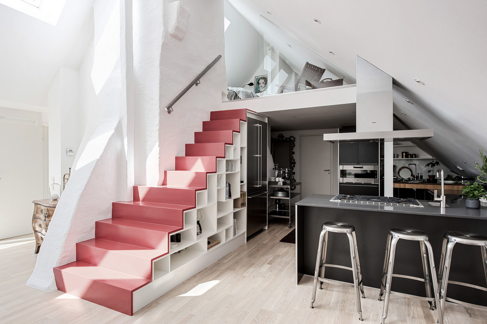 18 Delicate Scandinavian Staircase Designs You Will Fall For
