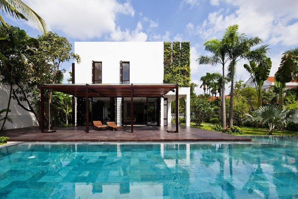 18 Fascinating Tropical Home Exterior Designs Youll Fall In Love With