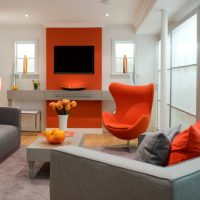 Lovely Interior Designs With Orange That Are Hit This Season