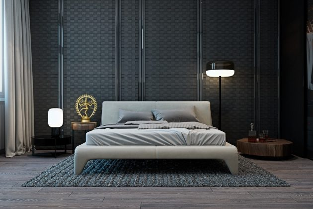 10 Magnificent Dark Bedrooms That You Will Fall In Love With