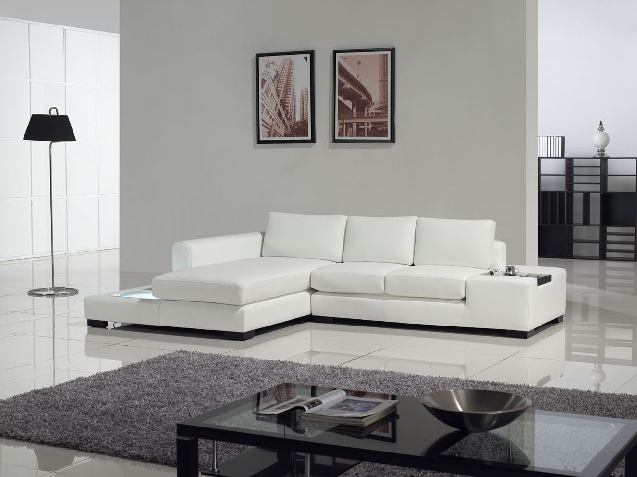 16 Alluring White Sofa Designs For A Cheerful Ambience