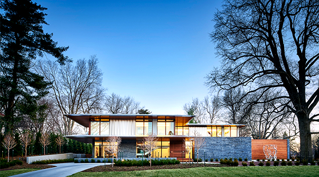 Artery Residence by Hufft Projects in Kansas City, Missouri