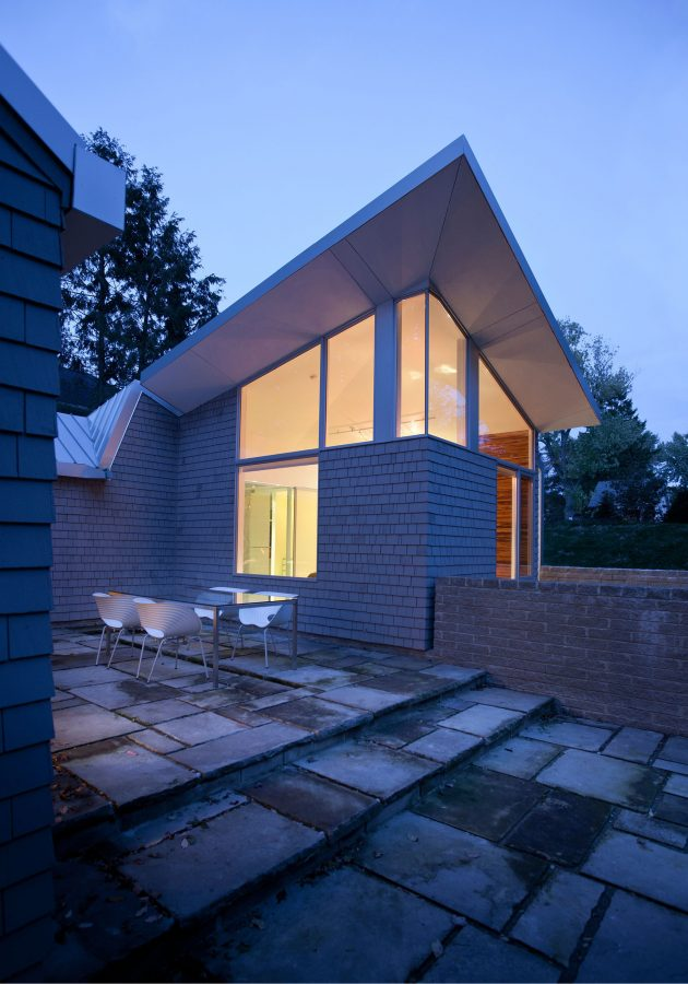 Brahler Residence by Robert Maschke Architects in Bay Village, Ohio