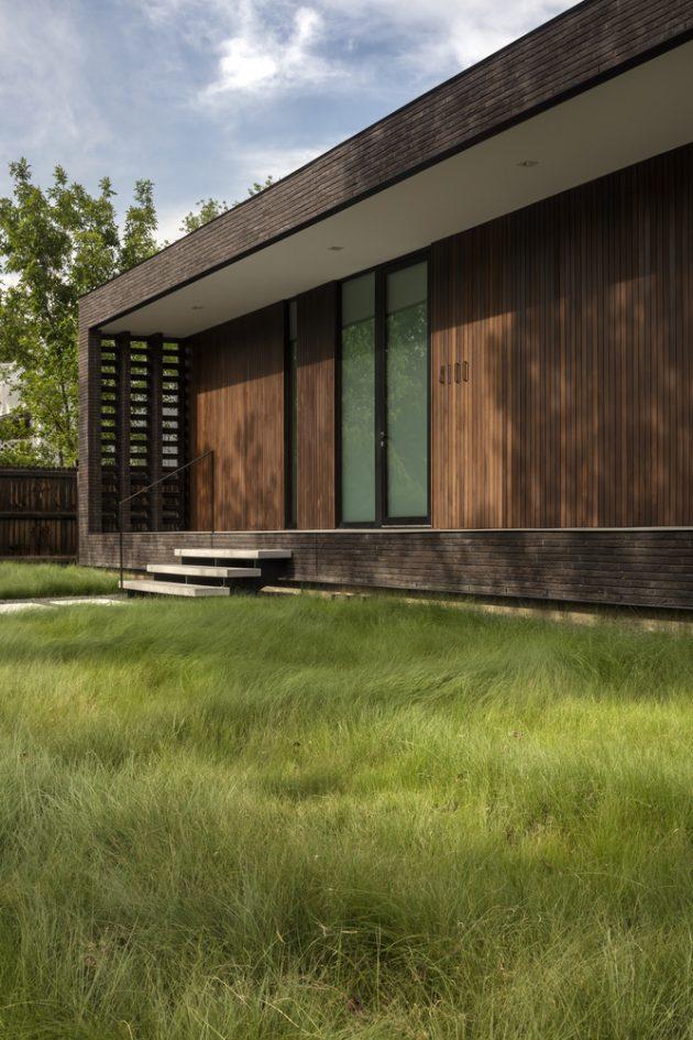 Brick City House By Studio B Architecture Interiors In