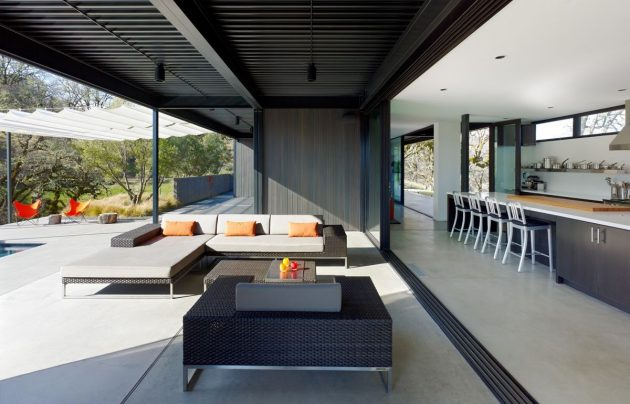 Burton Residence by Marmol Radziner in California, USA