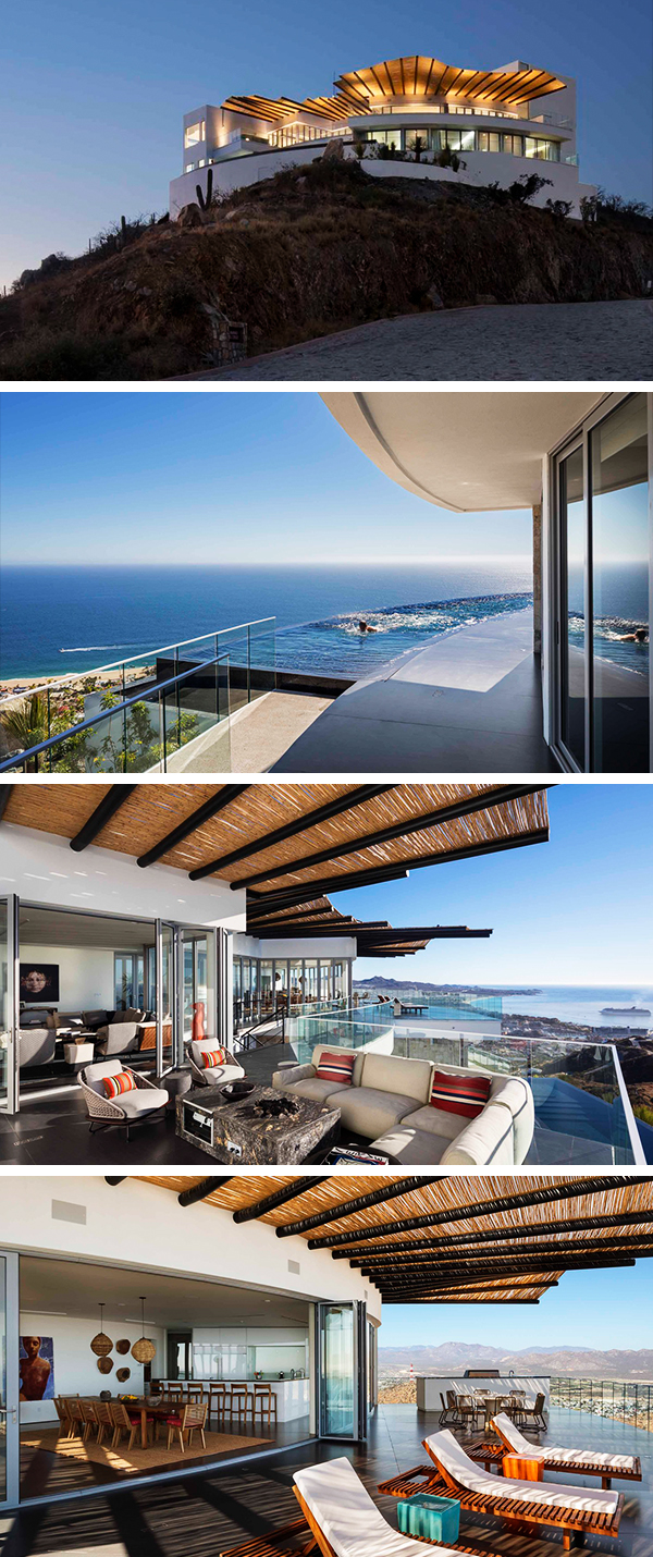 Casa Ambar by Centerbrook Architects & Planners in Cabo San Lucas, Mexico
