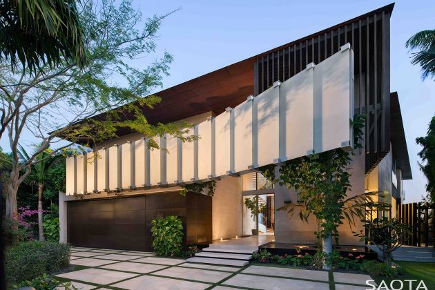 Dilido Residence by SAOTA in Miami, Florida