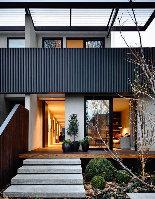 Elwood Townhouse by Inform Design in Melbourne, Australia