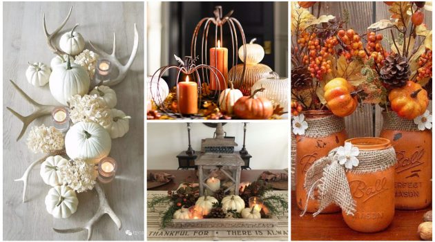 19 Really Amazing DIY Fall Decorations That You Shouldn't Miss