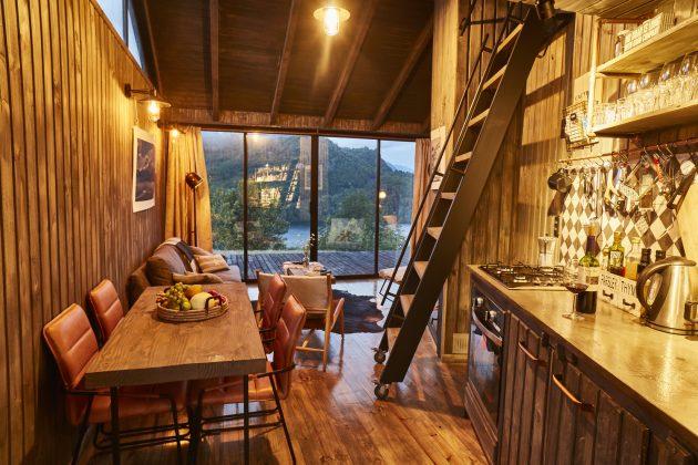 GZ1 House by Paul Steel Bouza Arquitecto in Futaleufu, Chile