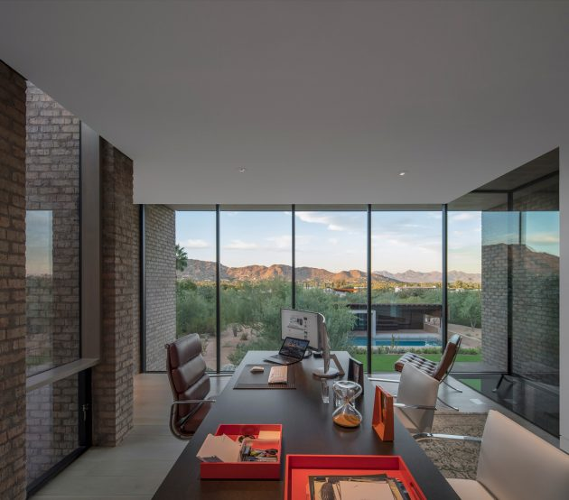 Ghost Wash House by Architecture-Infrastructure-Research in Paradise Valley, Arizona
