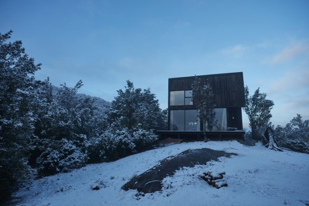 House GZ2 by Paul Steel Bouza Arquitecto in Futaleufu, Chile