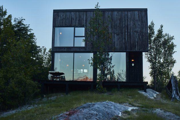 House GZ2 by Paul Steel Bouza Arquitecto in Futaleufu, Chile