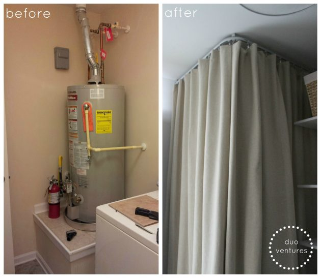 5 Clever Ways To Conceal Your Homes Water Heater