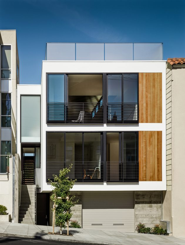 Laguna Street Residence by Micahel Hennessey Architecture in San Francisco, California
