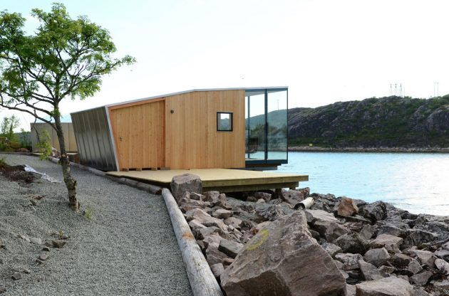 Manshausen Island Resort by Snore Stinessen Arkitektur in Steigen, Norway