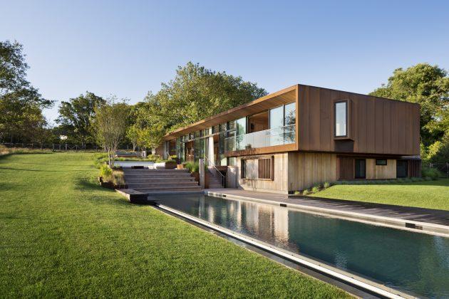 Peconic House By Studio Mapos In Hampton Bays New York