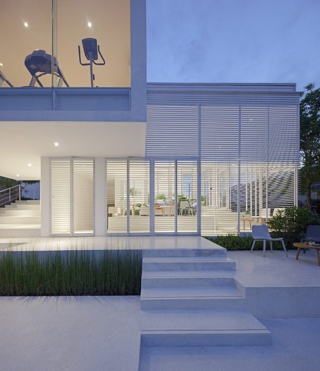 Sky Clubhouse by Design in Motion in Bangkok, Thailand