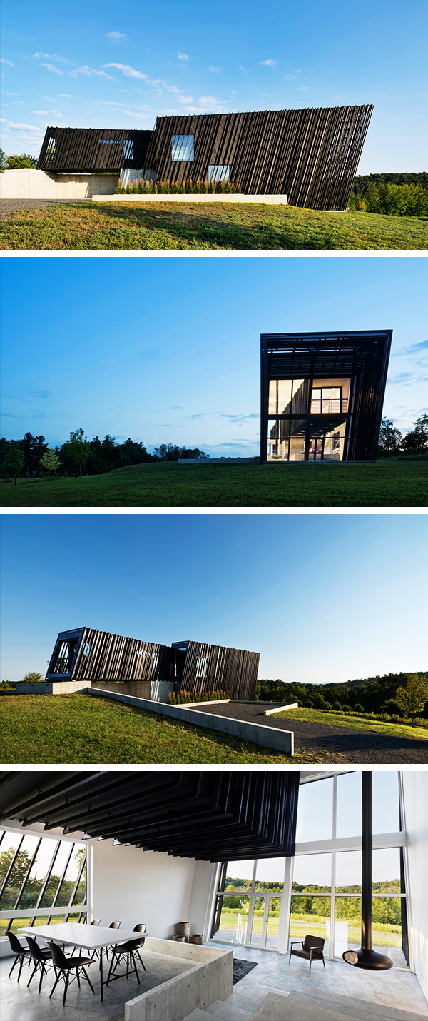 Sleeve House by Actual / Office in Columbia County, New York