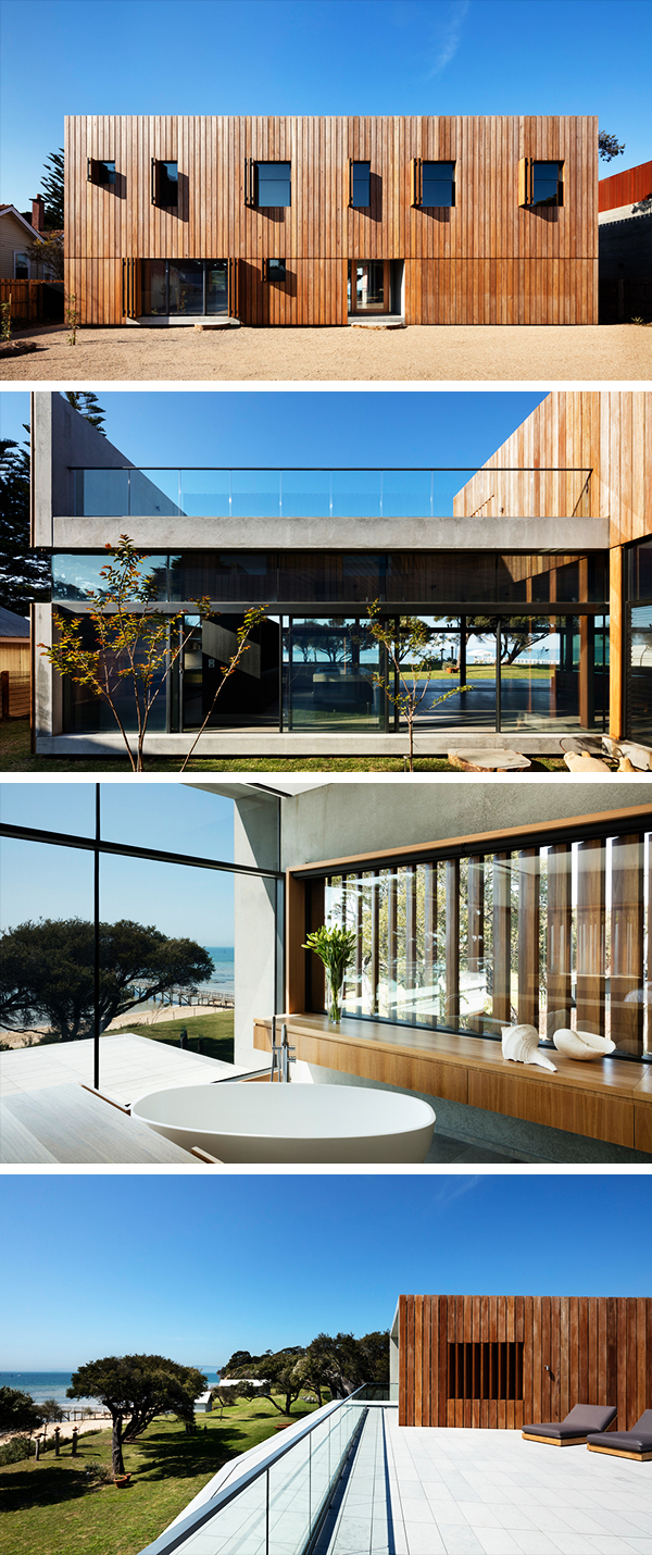 Sorrento Beach House by AM Architecture on the Mornington Peninsula in Australia