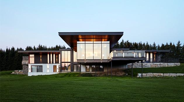 Stouffville Residence by Trevor McIvor Architect in Ontario, Canada
