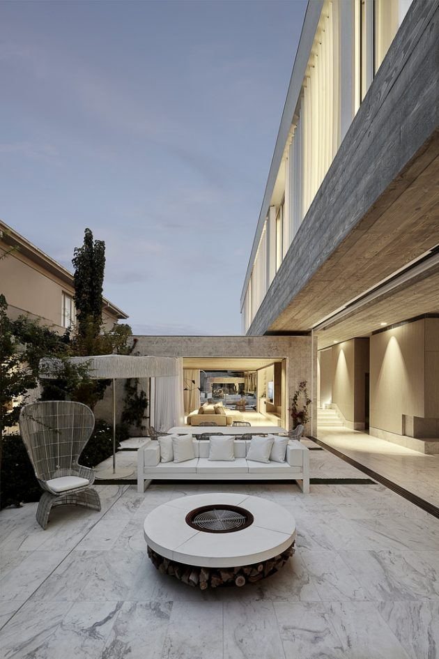 Toorak Residence by Architecton in Melbourne, Australia