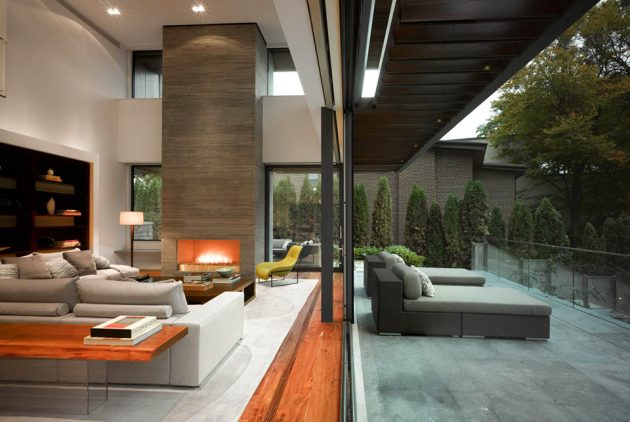 Toronto Residence by Belzberg Architects in Toronto, Canada