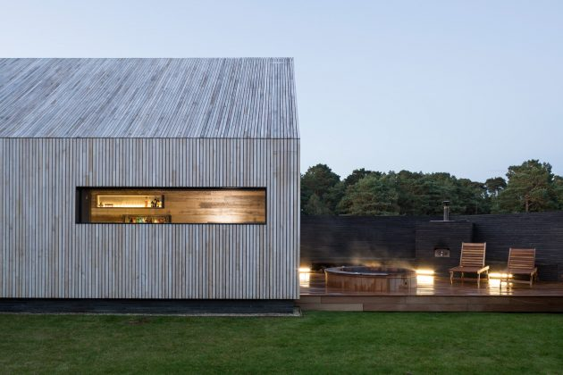 Watson House Annexe by Strom Architects in Hampshire, England