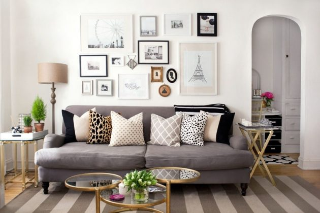 17 Cool Ideas To Style Up Your Living Room With Pillows
